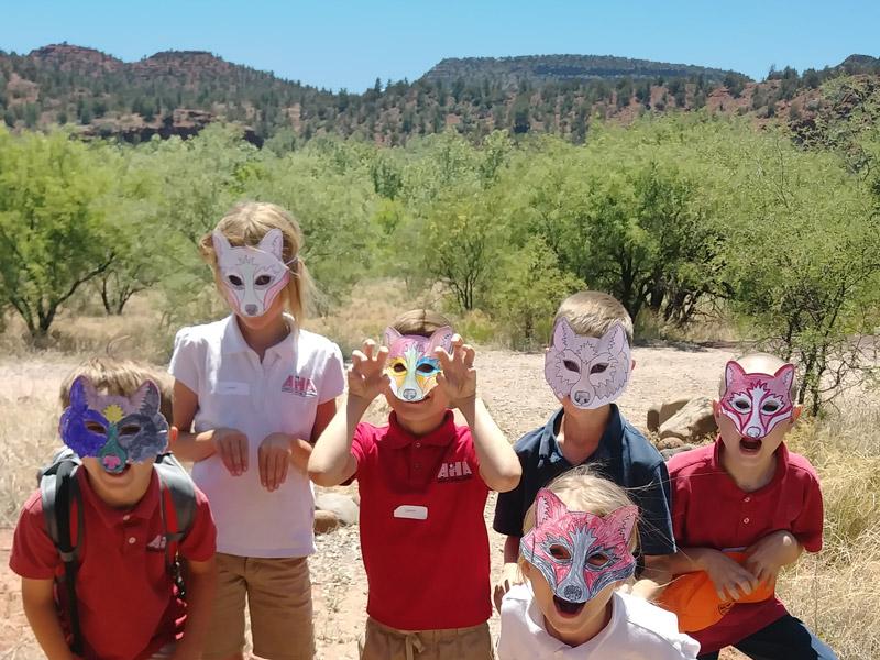kids-masks-park